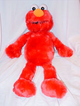 Sesame Place Elmo 2002 Plush