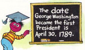 George washington roosevelt dictionary