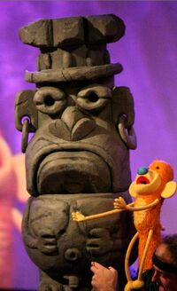 PuppetUp Statue