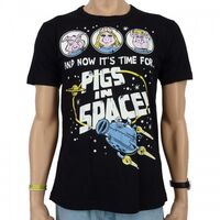 Logoshirt-PigsInSpace-T-Shirt-black