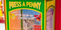 Sesame Street pressed pennies (Universal Studios Singapore)