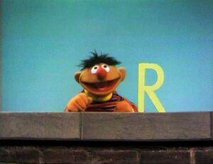 Ernie and an R