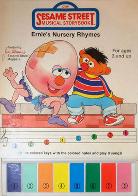 Ernie's Nursery Rhymes book