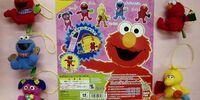 Sesame Street finger puppets (Bandai)