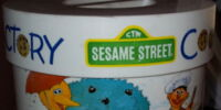 Sesame Street cookie jars (Peter Pan Industries)