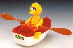 Big bird rowboat 1