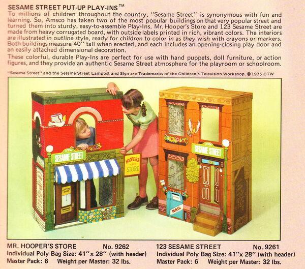 Sesame playhouses amsco