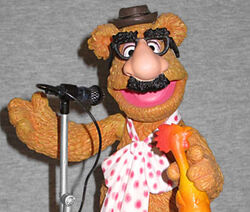 Fozzie action figure Groucho glasses