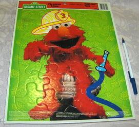 Golden fireman elmo 1997 puzzle