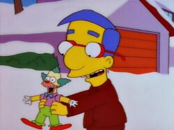 Milhouse tickle me krsut