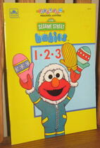 Sesame babies coloring book golden 1992