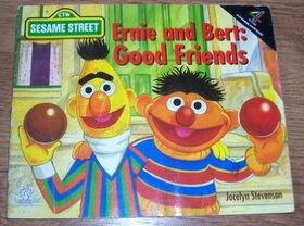 Ernie and bert good friends
