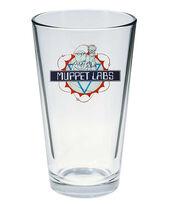 Muppet Show pint glass Muppet Labs