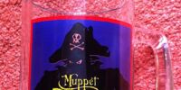 Muppet Treasure Island Glass Tumbler