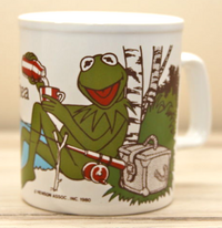 Kiln craft 1980 kermit mug 1