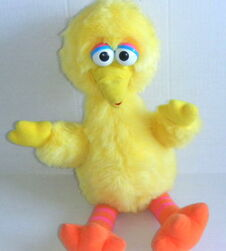 Playskool big bird puppet
