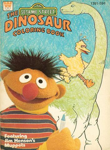 File:Dinosaur coloring book.jpg
