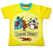 Fabric flavours sesame street band