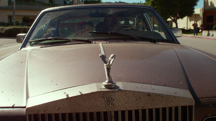 Kermit's car hood ornament