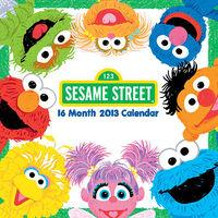 Sesame Street 2013 Calendar