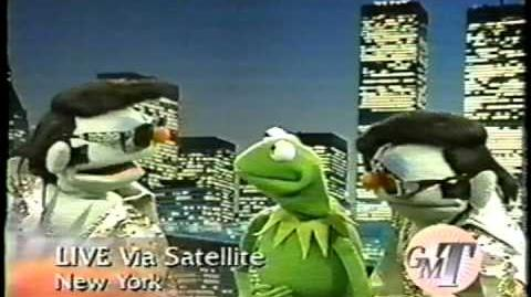 "Kermit the Frog on ""Good Morning Texas"""