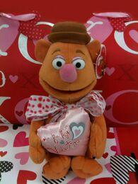 Just play 2013 valentine's fozzie plush