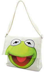 2012 disney store kermit messenger bag