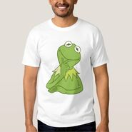 Zazzle kermit thinking shirt