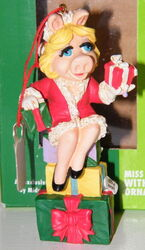 Midwest piggy packages ornament