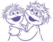 Rosita and Rosa illustration