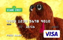 Sesame debit cards 51 snuffy