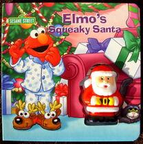 Elmo's Squeaky Santa
