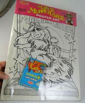 Avalon 1981 great muppet caper poster art set 4