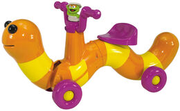 Processed plastic company pp scoot along slimey rider ride-on toy 1