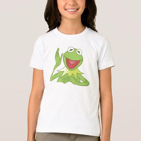File:Zazzle kermit sitting waving shirt.jpg