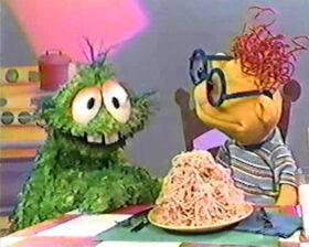 Muppet time spaghetti