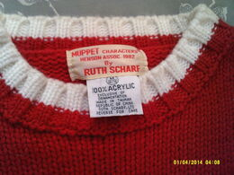 Ruth scharf sweater 1982 b