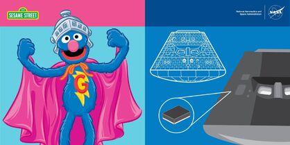 NASAOrion.Facebook July 8 2015 Super Grover