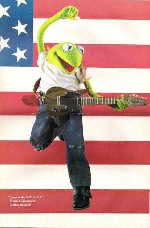 Kermit green
