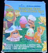 Hallmark 1981 muppet easter egg decorating kit 1