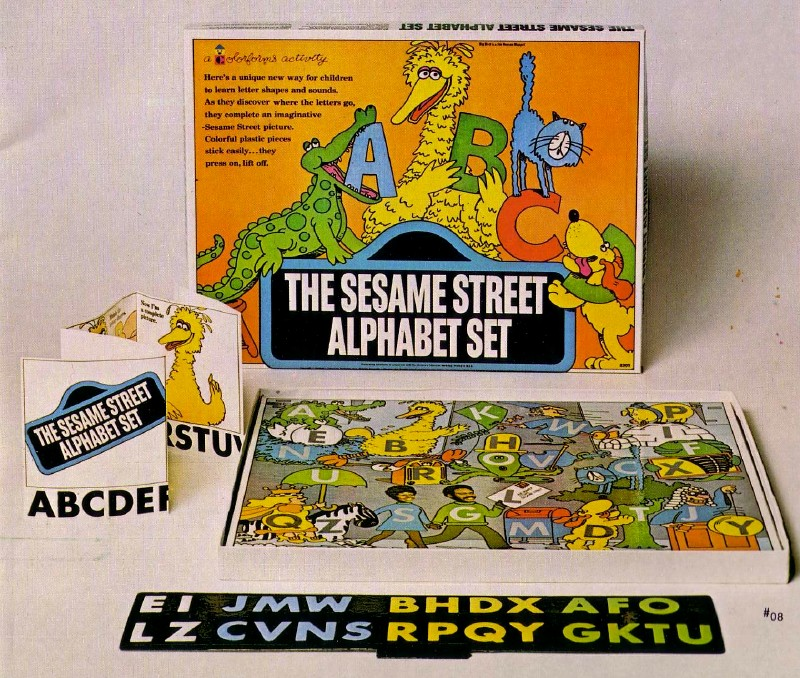 The Sesame Street Alphabet Set