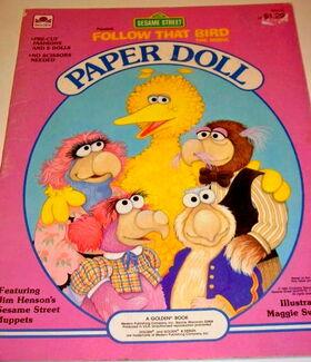 Follow that bird paper dolls 1