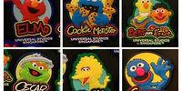 Sesame Street magnets (Universal Studios Singapore)
