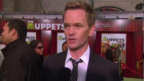 Neil Patrick Harris interviewed at The Muppets World Premiere!