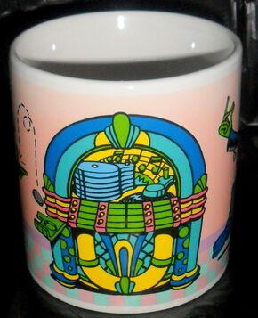 Presents 1991 kermit mug 2