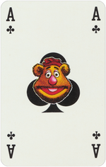 1978 playing cards Ace Clubs