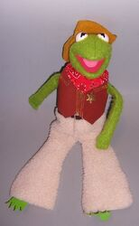 Muppets - fisher price - kermit dress up doll 857 in 888