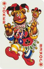 1978 playing cards Joker
