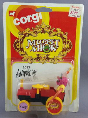 Corgi animal car 1