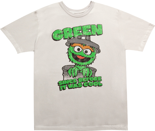 File:Sesame Street Oscar The Grouch Green Since Before it Was Cool-T-Shirt.jpg